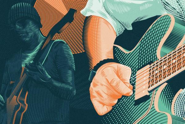A Love Electric Wondertour 2016 Poster Detail 02 - Björn Siems