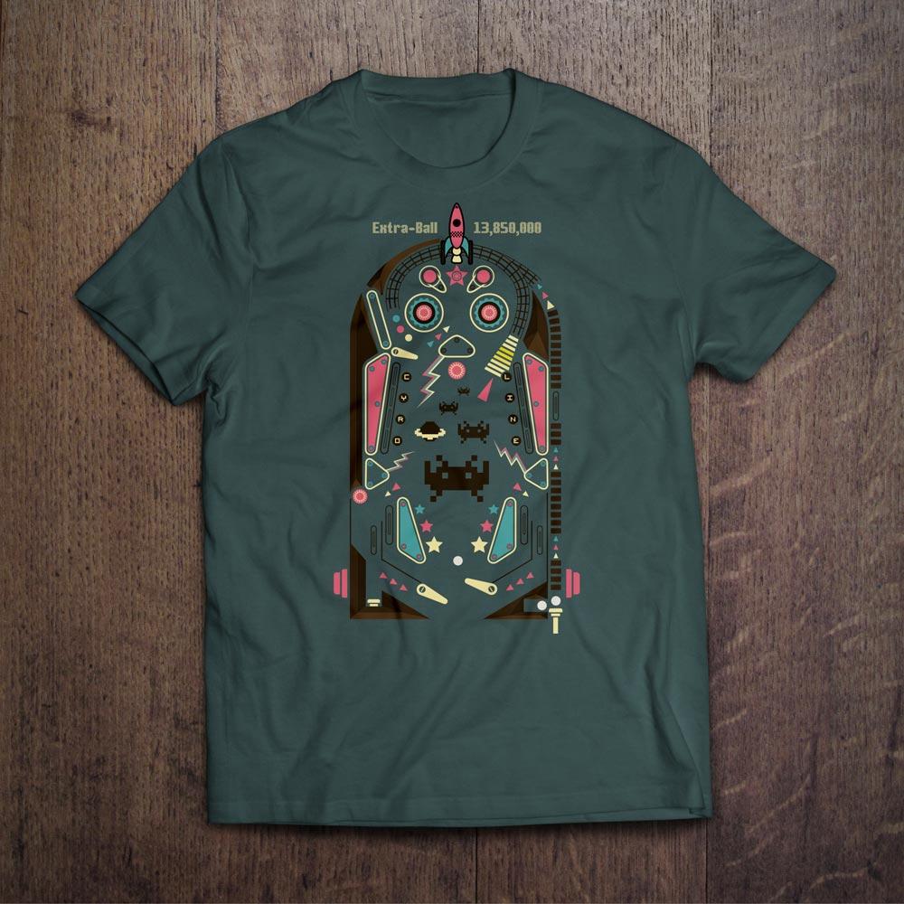 Extra-Ball T-Shirt Design - Björn Siems