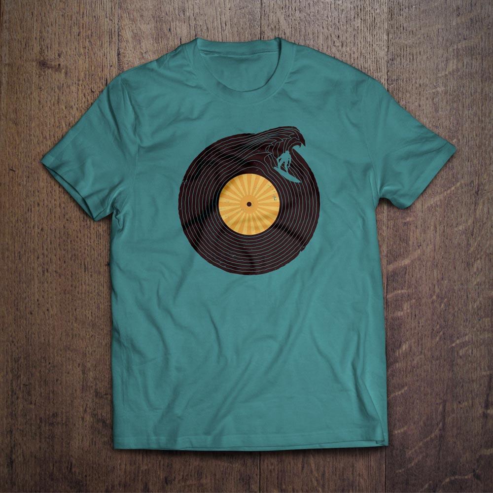 Soundwave T-Shirt Design - Björn Siems