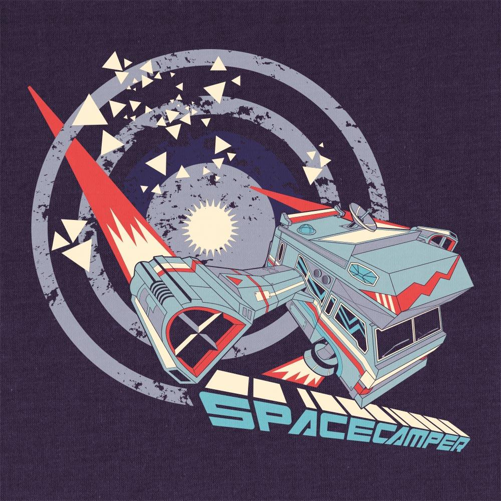 Space Camper Illustration Design - Björn Siems
