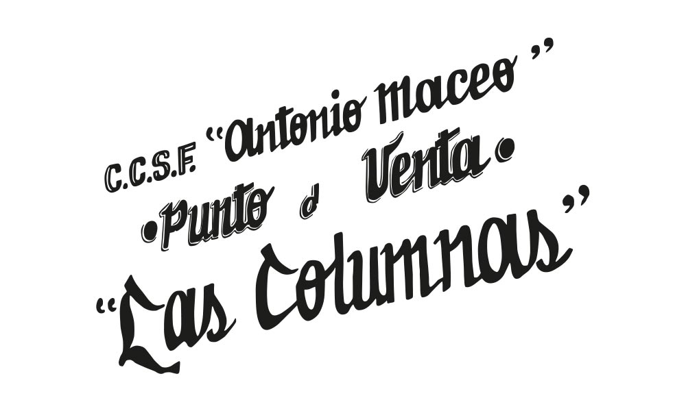 Types of Cuba Typography Las Columnas - Björn Siems