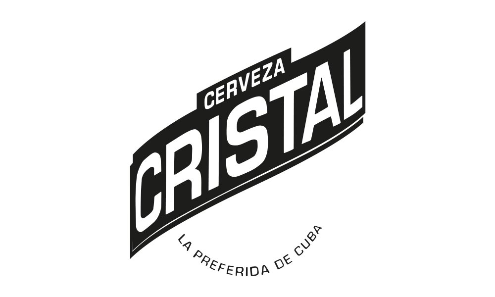 Types of Cuba Typography Cerveza Cristal - Björn Siems